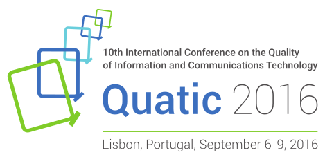 10th International Conference on the Quality of Information and Communications Technology (QUATIC)